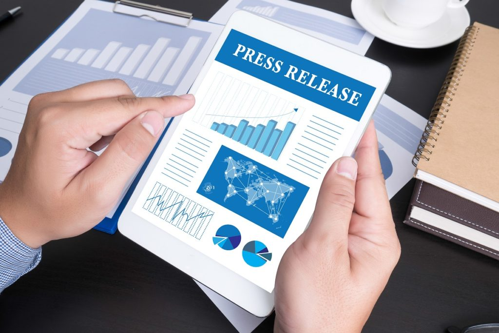 Writing press releases