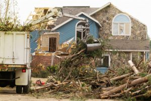 house affected by calamities